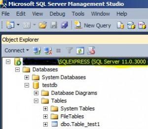 Microsoft SQL Express 2012