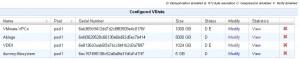 QUADStor - VDisk für lokales Filesystem erstellt